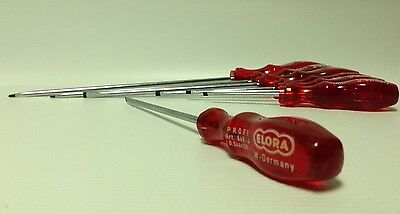 Elora Professional engineers 7 piece flat slotted screwdriver set