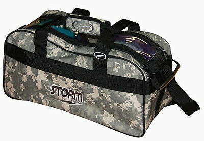 Storm Camo 2 Ball Tote Clear Top Bowling Bag