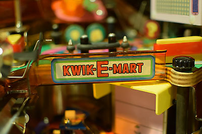 The Simpsons Pinball Party Kwik-E-Mart Sign