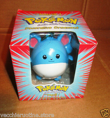 POKEMON POKèMON DECORATIVE ORNAMENT MARILL NEW SEALED Tiger Giochi Preziosi