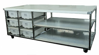 Heavy Duty Stainless Steel Bench Style BE
