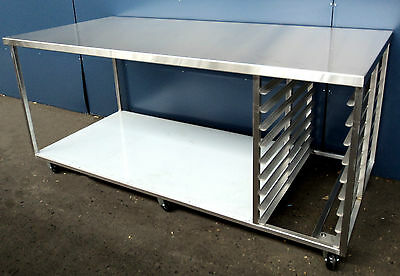 Heavy Duty Stainless Steel Bench Style C
