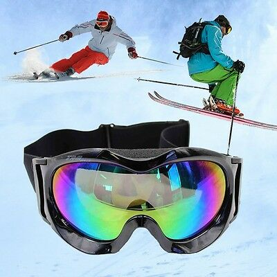 Kids Snowboard Ski Snow Goggles Anti-Fog Spherical Lens Children Sport Glasses