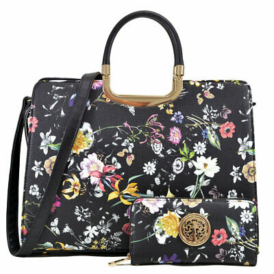 New Womens Handbags Faux Leather Business Purse Laptop Case Briefcase Tote Bags