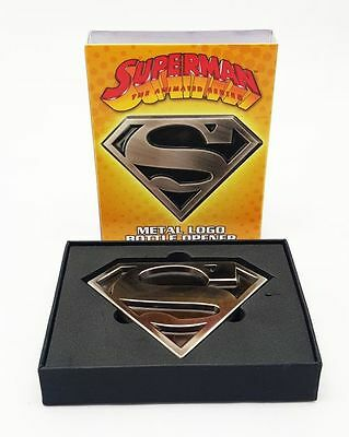 Superman: The Animated Series Logo Metal Bottle Opener. Fast 'N Free Delivery