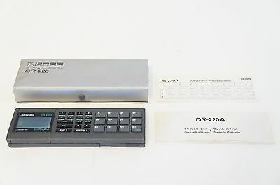 BOSS Roland DR-220A Dr. Rhythm Drum Machine DR-220 World Ship