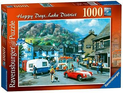 Ravensburger 19584 Happy Days No 15 Lake District Jigsaw Puzzle 1000 Piece - New