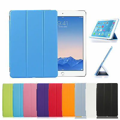 Funda Carcasa Smart Cover + Case Tablet Apple Ipad 6 Ipad Air 2 Multicolores