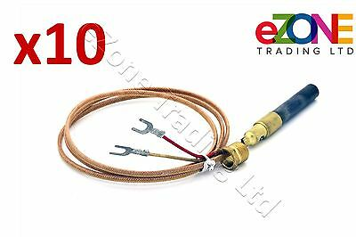 QTY 10 of 2-WIRE THERMOPILE THERMOCOUPLE FITS IMPERIAL LINCAT FAGE PITCO