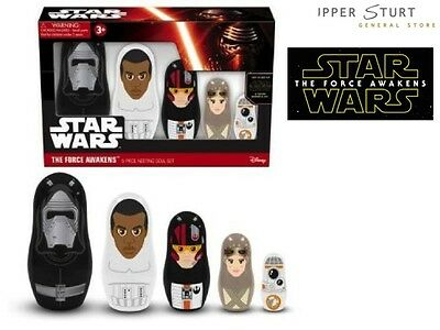 Star Wars Episode 7 Nesting Dolls Set Expert Packaging