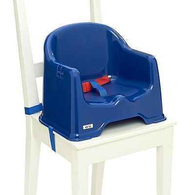 Strata BLUE BOOSTER SEAT Baby/Toddler/Child Feeding Nursery Home Travel Seat