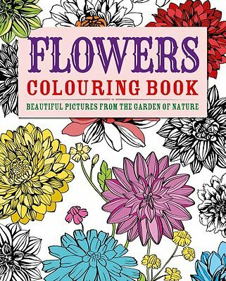 Flowers Colouring Book: Beautiful Pictures from the Garden of Nature Paperback