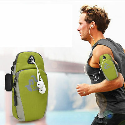 Sports Running Jogging Gym Armband Arm Band Holder Bag For iPhone 6 & More