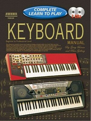 COMPLETE LEARN TO PLAY Keyboard Manual + CDs*