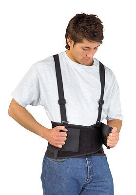 "Portwest PW80 Back Support Belt Elasticated Sizes 28"" - 44"" Waist"