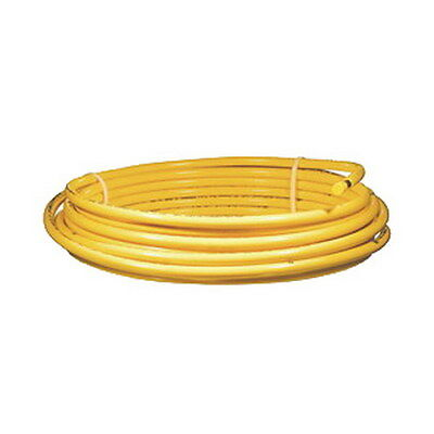 "5/8"" OD x 50' Yellow Polythylene Jacketed Copper Tubing"