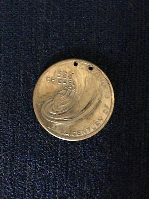 1933 Chicago World's Fair A century In Progress Token Coin