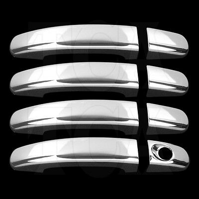 For Ford Focus 2012 2013 2014 Chrome 4 Door Handle Covers W/o Psg Kh 12 13 14
