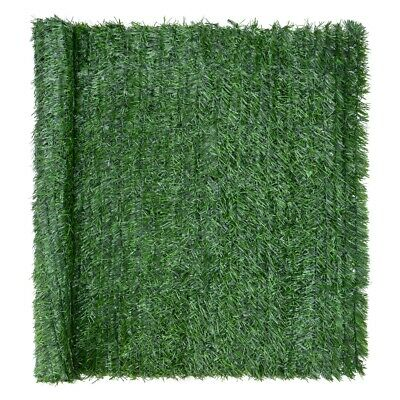 Artificial Conifer Leaf Hedge Roll Screening Privacy Screen Garden Fence 1m x 3m