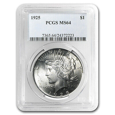 1925 Peace Dollar MS-64 PCGS - SKU #24829