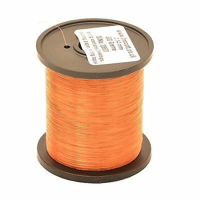 0.16mm ENAMELLED COPPER WIRE - COIL WIRE, HIGH TEMPERATURE MAGNET WIRE - 125g