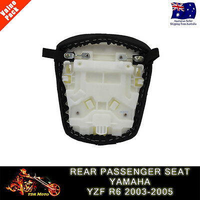 Motorcycle Rear Passenger Seat Pillion Cusion for YAMAHA YZF R6 2003 2004 2005