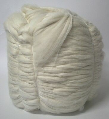 9.9kg Bump Merino Wool 17.5 micron top roving spinning felting