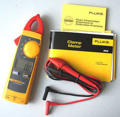 FLUKE 362 Handheld Digital Multimeter Clamp Meter Tester AC/DC True-rms 200A
