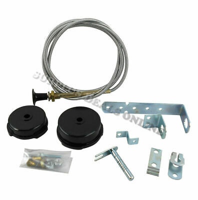 "Choke Conversion Kit 1.5m 60"" Heavy Duty Universal fit, Car Truck Machinery #C"