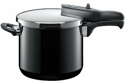 NEW SILIT Sicomitac T-Plus Pressure Cooker 6.5L ACCENTO BLACK German Made