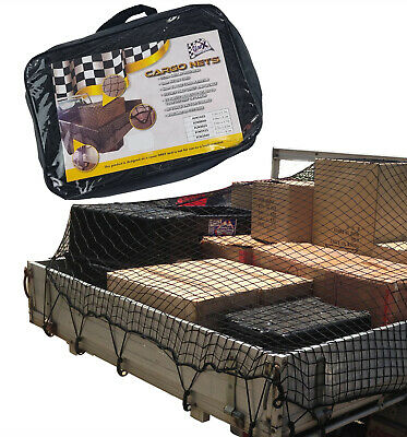 Cargo Net 2.5m x 3.5m 35mm Square Mesh Safe & Legal -Great for Ute Truck Trailer