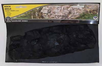 OO HO Scale Woodland Scenics Rock Mold Facet Rocks C1244 FNQHobbys