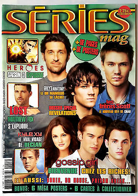 Série Mag n°53; Interview Chace Crawford, Teri Harcher, Patrick Dempsey, Loost