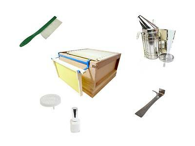 Beekeeping Accessories, Smoker & Fuel, Hive Tool, Frame Rest, Brush Cage, Paint