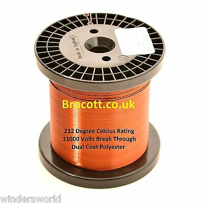 0.63mm ENAMELLED COPPER WIRE - COIL WIRE, TATTOO COIL MAGNET WIRE - 1kg