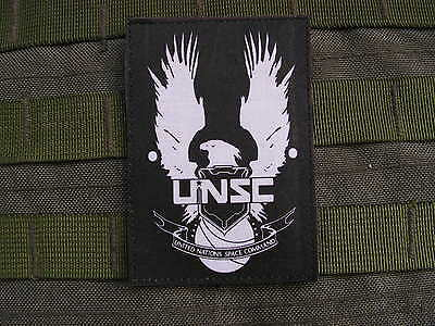 Patch velcro UNSC - Halo 4 UNSC backed Master Chief Xbox 360 One US airsoft