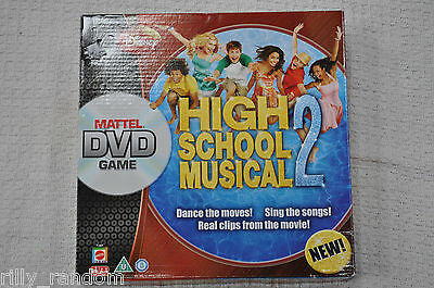 High School Musical 2 DVD Board Game * Will Combine Postage *