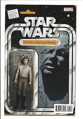 STAR WARS: HAN SOLO # 1 (ACTION FIGURE VAR, AUG 2016), NM NEW (Bagged & Boarded)