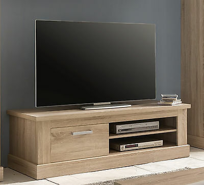 lowboard sydney tv board unterteil in wei hochglanz lackiert mit 2 schubk sten eur 215 95. Black Bedroom Furniture Sets. Home Design Ideas
