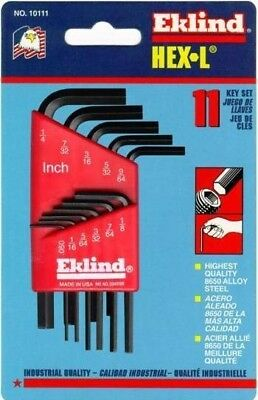 Eklind Imperial REK10111 Short Arm Set 11 Hexagon Keys