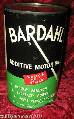 1 - Bardahl Imperial quart steel oil Additive Can  (2016-133B)