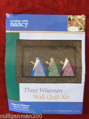 1 - Sewing with Nancy's Three Wise Men Wall Hanging Kit (2016-117)