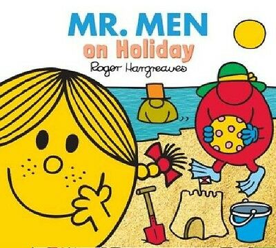 NEW sparkly MR MEN - MR MEN ON HOLIDAY (BUY 5 GET 1 FREE) Little Miss