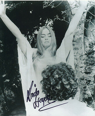 Linda Hayden SIGNED photo - The Blood on Satan's Claw - J95