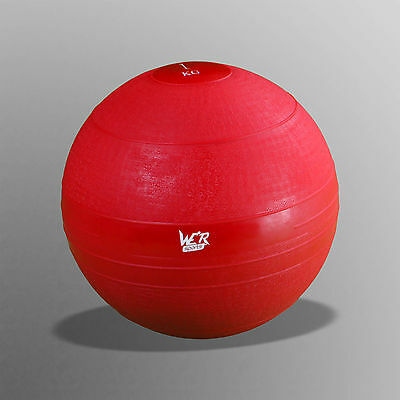 1kg No Bounce Slam Ball Crossfit Bootcamp MMA Fitness Strength Training Workout