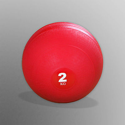 2kg No Bounce Slam Ball Crossfit Bootcamp MMA Fitness Strength Training Workout