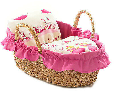 Bayer Chic 2000 Korbtragetasche für Puppen 45 cm (Little Princess)