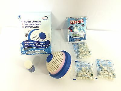 KIT complet NEUF  - Boule de lavage ROBBY WASH + recharges