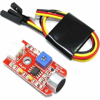 Funduino Sound Detection Module KY-060 Keyes Arduino PI 20cm Mic Flux Workshop