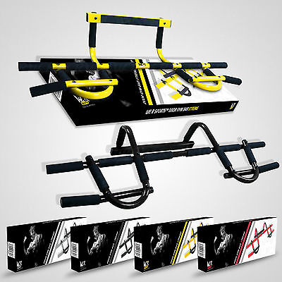 Door Gym Bar Chin Ups Pull Ups Sit Up Fitness Exercise Home Training Door Bar